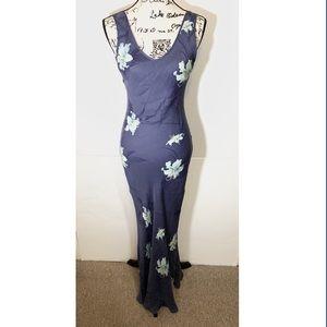 Tommy Bahama Mermaid Floral Silk Maxi Dress